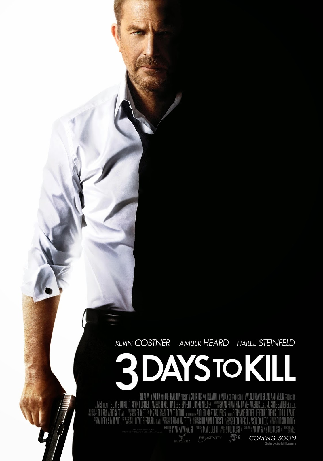 3 days to kill review ranting ray 39 s film reviews. Black Bedroom Furniture Sets. Home Design Ideas