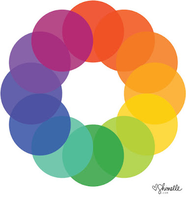 Color wheel by Shimell Laine