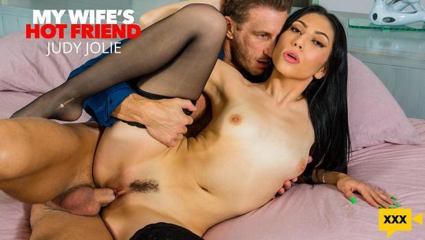 [18+]  My Wife's Hot Friend – Judy Jolie (2020) FULLHD 380MB