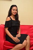 South Actress Amulya in short black dress at Kalamandir Foundation 7th anniversary Celebrations ~  Actress Galleries 044.JPG