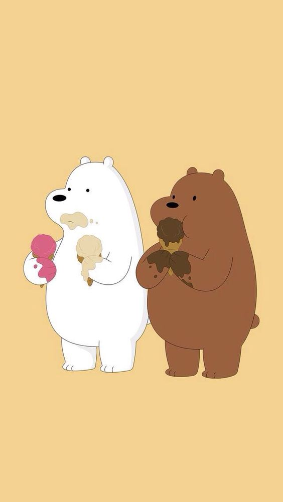 Ice Bear, Grizzly we bare bears