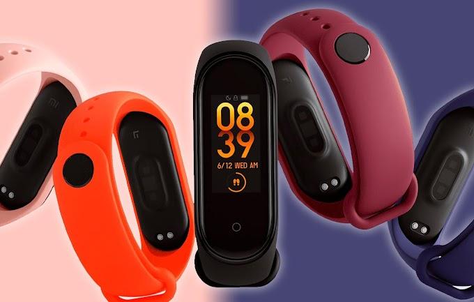 Sorteio da pulseira inteligente Xiaomi Mi Band 5