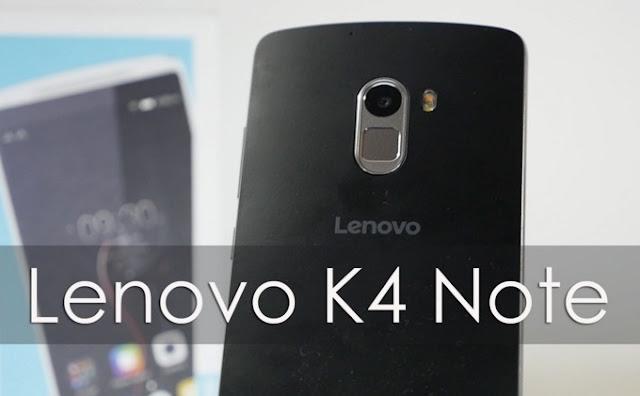 Harga HP Lenovo K4 Note Tahun 2017 Lengkap Dengan Spesifikasi | Layar 5.5 Inchi RAM 3GB