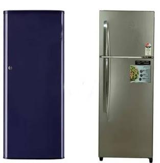 الفرق بين الثلاجة البابين والثلاجة ذات الباب الواحد