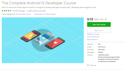 Top 5 Android Online Training Courses for Java Developers