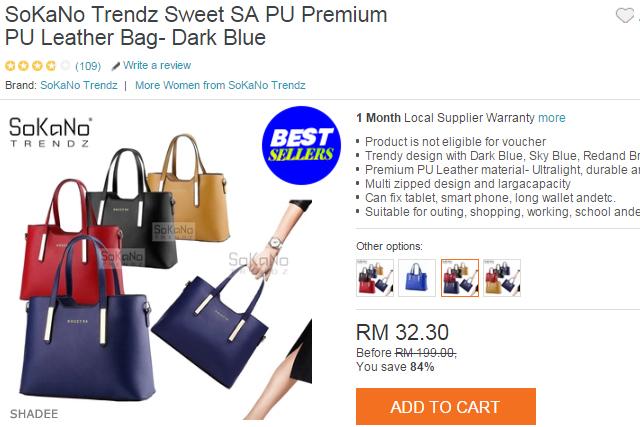 SoKaNo Trendz Sweet SA RM32