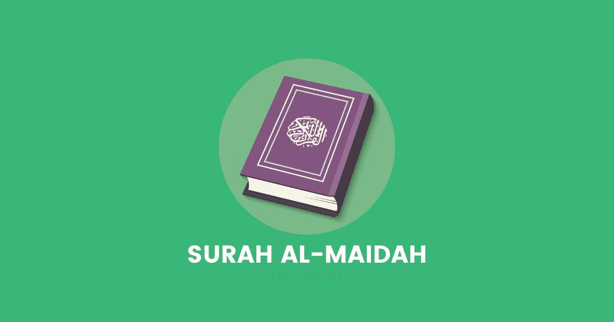 surah al-maidah rumi dan jawi terjemahan
