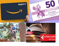 Drenax ti premia 2021 : ricevi come premio certo una Card (La Feltrinelli, Chili, Amazon, Photocity) o voucher esperienza