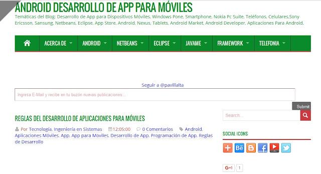 Blog de Android Desarrollo de App para Moviles