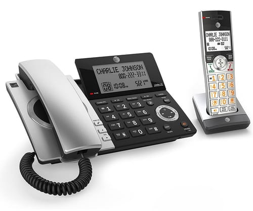 AT&T CL84107 DECT 6.0 Corded/Cordless Phone