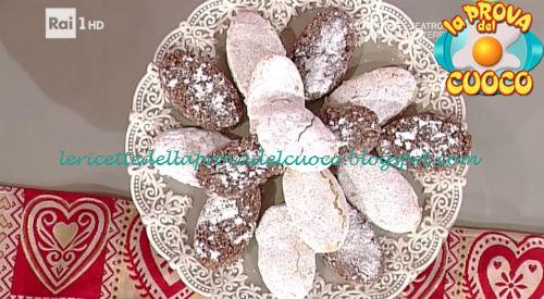 """I ricciarelli: ricetta di Anna Moroni da """"La Prova del Cuoco"""""""