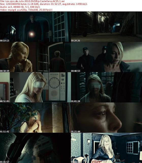 Los Ojos de Julia DVDRip Español Castellano 2010