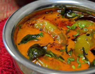Mirchi Baingan Salan | Chili Brinjal Curry