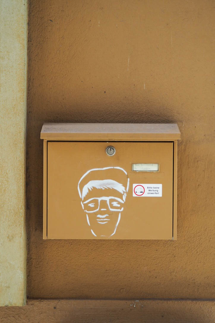 Street art post box