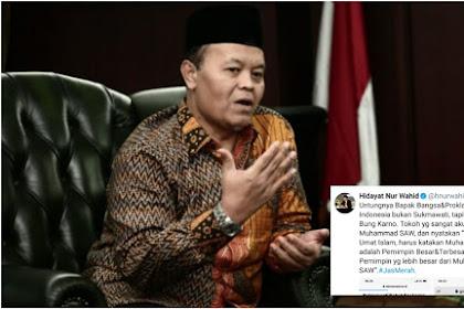 Hidayat Nur Wahid Kritik Pernyataan Sukmawati Soal Soekarno Melebihi Nabi Muhammad SAW