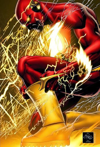 Barry Allen es Flash, el superhéroe rápido de DC