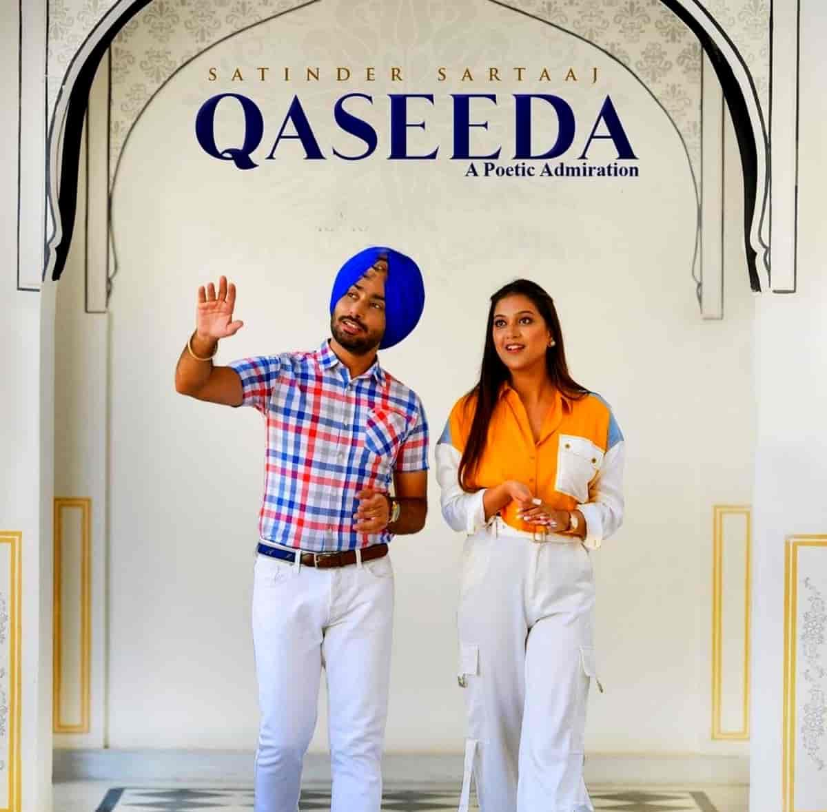 Qaseeda Punjabi Song Image Features Satinder Sartaaj and Sawan Rupowali