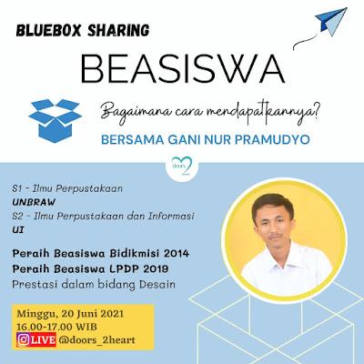 Bluebox Sharing -  Beasiswa Bagaimana Cara Mendapatkannya?