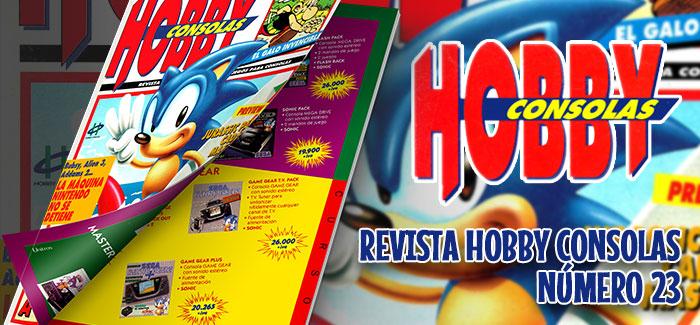 Revista Hobby Consolas Nº 23 (1993)