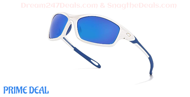 50% OFF Polarized Sports Sunglasses for Men Women Cycling Sun Glass TR90 Frame