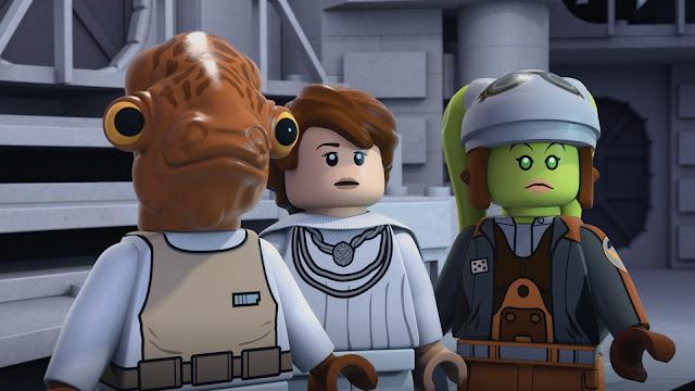 """LEGO Star Wars: THE FREEMAKER ADVENTURES"" season 2"