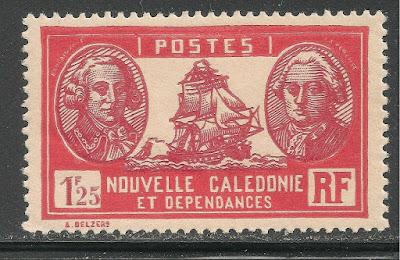 New Caledonia Admiral de Bougainville & Count