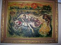 "Pelukis: Affandi Tahun: 1977 Judul : "" Sapi "" Ukuran : 100cm X 120cm Media : Oil on Canvas"