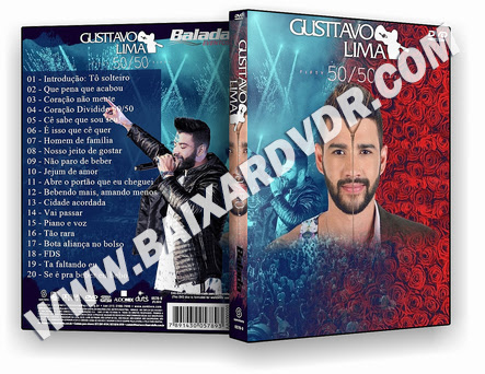 Gustavo Lima 50/50 2018 DVD-R OFICIAL