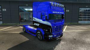Dieseline Dreams skin for Scania RJL
