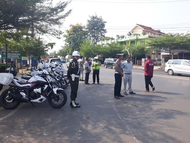 Operasi Zebra Krakatau 2019, Polres Lampung Utara Sidang Pelanggar Ditempat