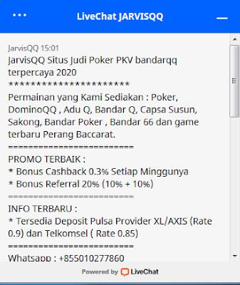 JarvisQQ | Agen Poker Pkv Terpercaya Di Indonesia