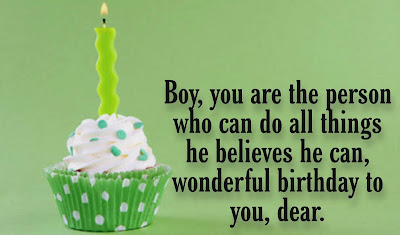 Birthday Wishes for Boys