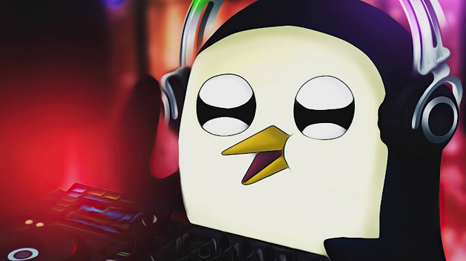 Papel de Parede Dj Pinguim Gunter