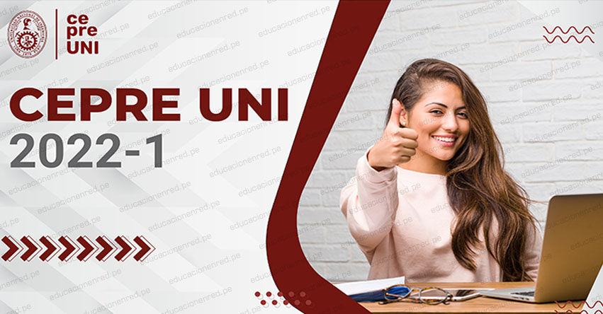 Resultados CEPRE-UNI 2022-1 (Domingo 22 Agosto 2021) Lista de Aprobados - Prueba de Selección - Centro Preuniversitario - Universidad Nacional de Ingeniería - www.cepre.uni.pe   www.uni.edu.pe