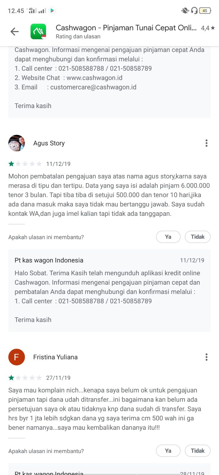 review pinjaman online cashwagon