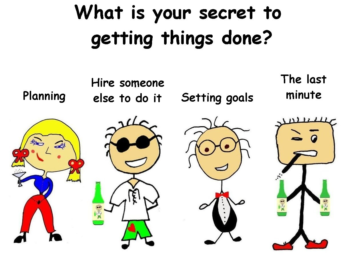 What's is your secret to GTD (getting things done)