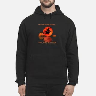 Halloween Witch On A Dark Desert Highway Cool Wind In My Hair Shirt 6