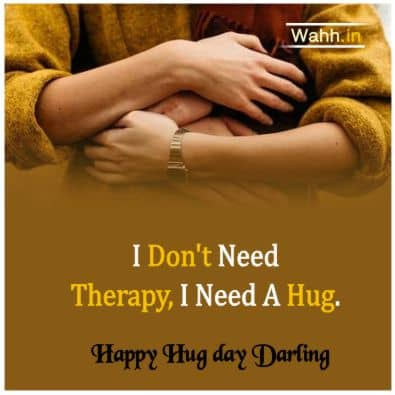 Hug Day Messages for Girlfriend  Hindi
