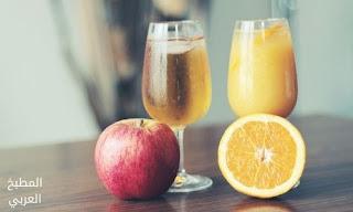 طريقة عمل عصير التفاح بالبرتقال عصير التفاح وعصير البرتقال