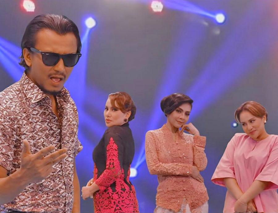 Empat Dara 2020 - Elly Mazlein, Faizal Tahir & Zizi Kirana (Music Video Rasmi)
