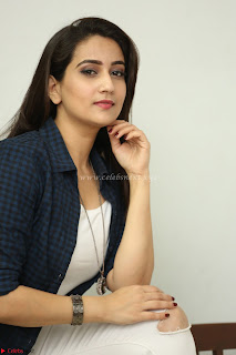 Manjusha in White Tight T Shirt and Black Jacket ~  Exclusive Celebrities Galleries 004