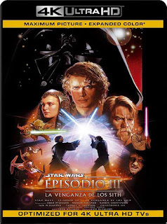 Star Wars: episodio III – la venganza de los Sith (2005) 4K 2160p UHD Latino [GoogleDrive]