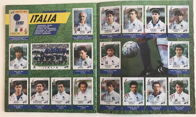 Figurine Italia Euro 92
