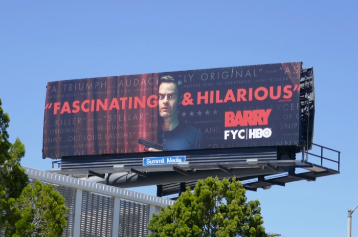 Barry season 2 Emmy FYC billboard