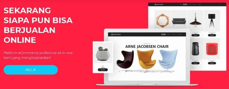 Buat Toko Online dengan Sitebeat