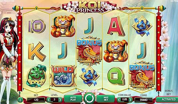 Main Gratis Slot Indonesia - Koi Princess NetEnt