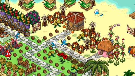 smurfs village op samsung galaxy ace