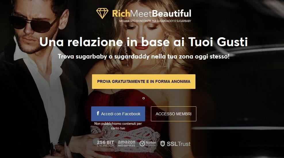 L'ideatore di Victoria Milan lancia RichMeetBeautiful in Italia