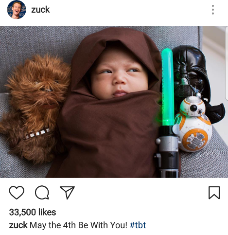 Mark Zuckerberg shares very cute photo of his daughter