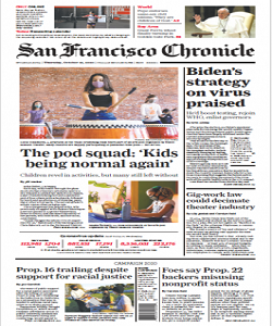 San Francisco Chronicle Magazine 22 October 2020 | San Francisco News | Free PDF Download